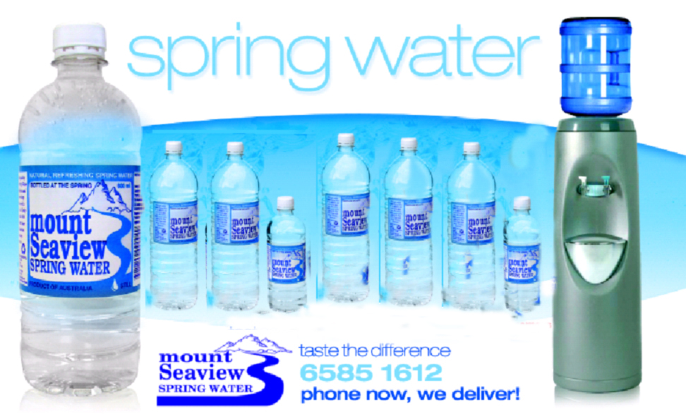 Mount Seaview Natural Spring Water Ph 7 8 A Natural